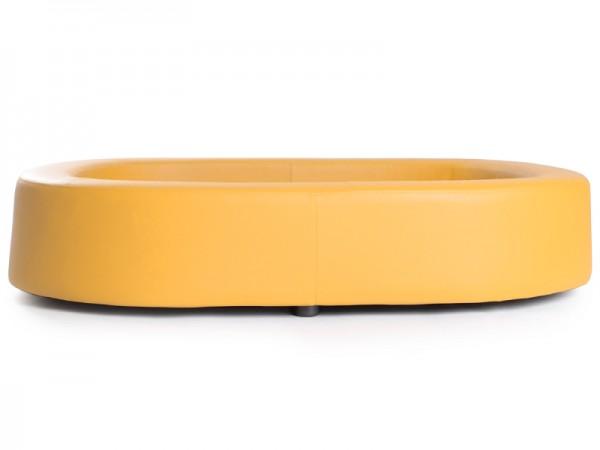 Hundesofa Hundecouch Hundebett Kunstleder Bodenplatte aus Holz in in in 12 Farben 26255e